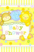 Cute Animal Baby Shower Invites with Envelopes - 8cnt.