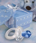 blue pacifier favours