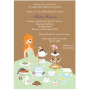 Tea for Two Baby Shower Invitations - Set of 20