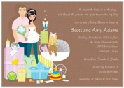 Baby Shower Gifts Couple Baby Shower Invitations - Set of 20