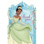 postcard thank you princess & frog