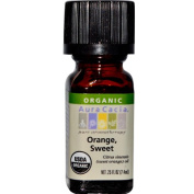 Aura Cacia 51744 Sweet Orange Essential Oil- 0.25oz