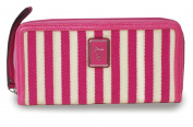 GUESS Breeze Wristlet Clutch Pink