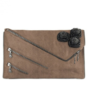Christian Audigier Zee Zee Top Zelda Clutch - Bronze