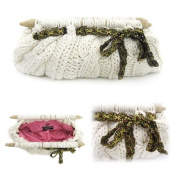 Cable Knit Clutch