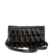 Harveys Seatbelt Lola Ruffle Convertible Clutch Black
