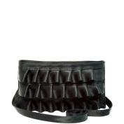 Harveys Seatbelt Lola Ruffle Convertible Clutch Black
