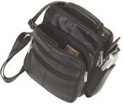 Leather Shoulder or Camera Bag Handbag Unisex Great for Travel Organizer Pockets