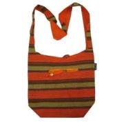 Shinning Lurex Heavy Cotton Bohemian / Hippie Sling Crossbody Bag India