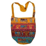 Handcrafted Elephant Bohemian / Hippie / Gypsy Crossbody Bag India