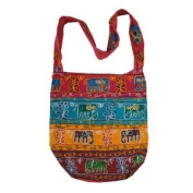 Handcrafted Sequined Bohemian / Hippie / Gypsy Crossbody Bag India