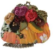 Mary Frances Jewel Bug Yellow Multi Mini Handbag