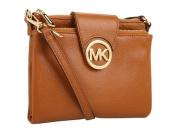 MICHAEL Michael Kors Fulton Large Crossbody Cross Body Handbags - Brown