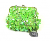 Gigi's Green Flapper Evening Bag