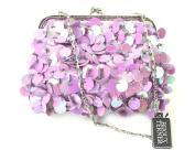 Gigi's Purple Flapper Evening Bag