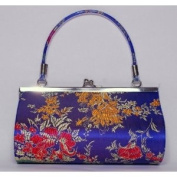 Brocade Evening Handbag - Blue