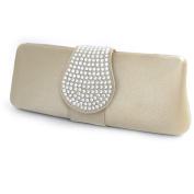 "Jewel bag ""Madonna"" golden sand."
