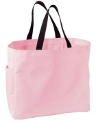 Port & Company Essential Tote Bag (B075) Available in 20 Colors Light Pink