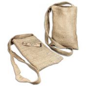 Burlap Medium Shoulder Bag 8-1.3cm X33cm -