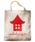 Macy's Handbag, Beach Bag/ Shopping Bag, Isabela Capeto Tote, Bird House, Retail $19.99