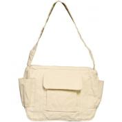 Medium Shoulder Bag 27.9cm X20.3cm X3.8cm -Natural