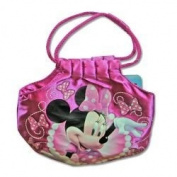 Minnie Bowtique 17.8cm Satin Handbag with Rope Handle