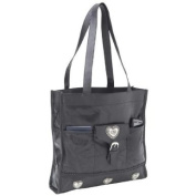 Genuine Lambskin Leather Shopping Bag