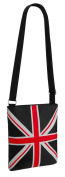 Union Jack Faux Leather Shoulder Bag/cross Body Bag