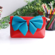 [Fresh Color] Colorful Leatherette Clutch Shoulder Bag Clutch Casual Purse