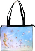 Tinkerbell Large Tote Bag with Black Trim