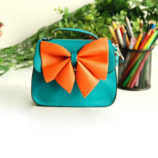 [Bright Ocean] Colorful Leatherette Clutch Shoulder Bag Clutch Casual Purse