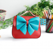 [Beauty Queen] Colorful Leatherette Clutch Shoulder Bag Clutch Casual Purse