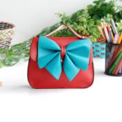 [Beauty Queen] Colorful Leatherette Clutch Shoulder Bag Clutch Casual Purse