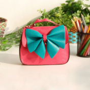 [Sweet Cherry] Colorful Leatherette Clutch Shoulder Bag Clutch Casual Purse