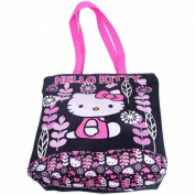 Sanrio Hello Kitty Friends Tote Shoulder Bag Black