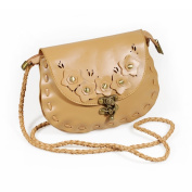 [Lovely Floral] Princess Leatherette Retro Handbag Shoulder Bag Satchel Bag Purse
