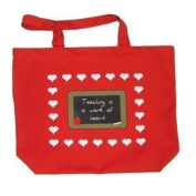 Get Ready 1710 Tote bag - Teaching is a work of heart.