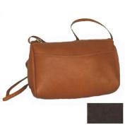 Vertical Top Zip Mini Handbag Color