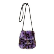 Twilight Purple Swirl Bag By Christine Clarke