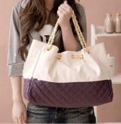 Ginkgo Store Brand New Korean Lady Hobo Tote PU leather handbag shoulder bag For Woman Purple