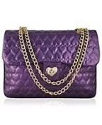 "Justin Bieber ""Girlfriend"" Limited Edition Quilted Satchel"