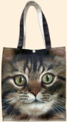 Fiddler's Elbow Long Haired Tabby Cat Tote