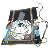 "Sports bag ""Hello Kitty"" black."
