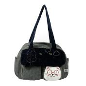 [Sunny Day] 100% Cotton Canvas Shoulder Bag / Swingpack / Travel Bag