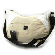 "Shoulder bag ""Binome"" beige."
