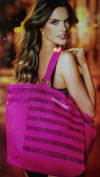 Victoria's Secret Sequin Pink Tote Bag ONLY