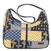 Bella Taylor American Charm Blakely Quilted Hobo Handbag