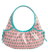 Vera Bradley Tied Together Hobo Bag in Call Me Coral