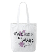 Marc By Marc Jacobs Small Cotton Tote Bag White Multi