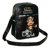 Paul Frank Unisex Julius Monkey Boom Box Rapper Flight Bag White